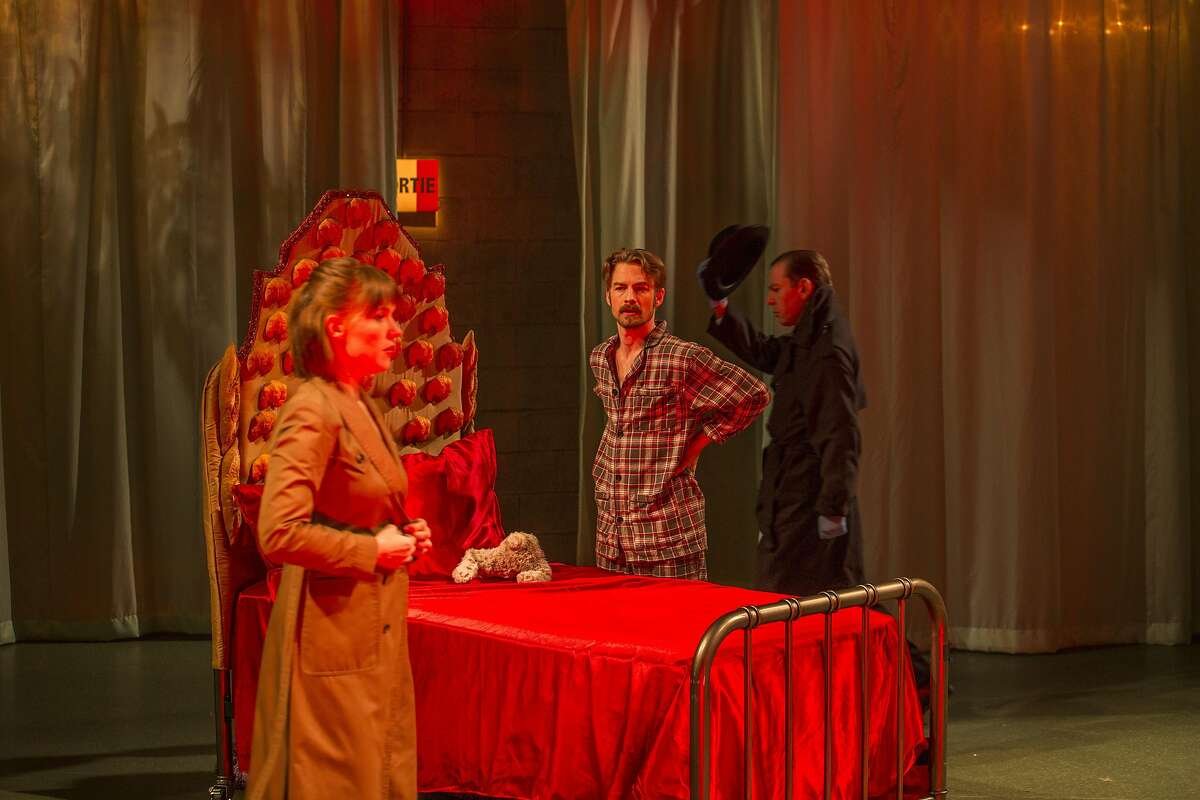 A dress rehearsal of Magic Theatre's