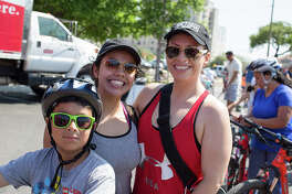 Thousands of locals and visitors flooded Southtown on Sunday, March 26, 2017, for the 12th annual Síclovía. Each year, 65,000 to 70,000 people participate in event that sees various city streets shut down and opened to pedestrians for cycling, skating, walking and other exercises.