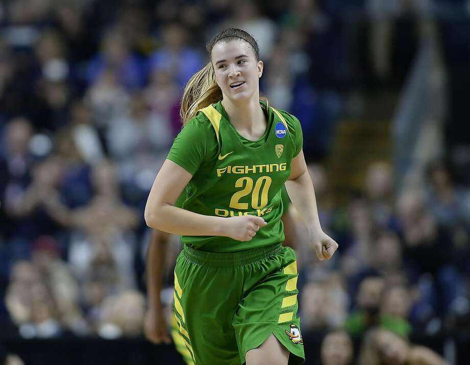 Miramonte-Orinda alum Sabrina Ionescu and Oregon play No. 1 UConn on Monday for a spot in the Final Four. Photo: Jessica Hill, Associated Press