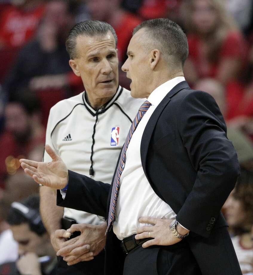 Thunder Coach Billy Donovan Has Softened On Referee