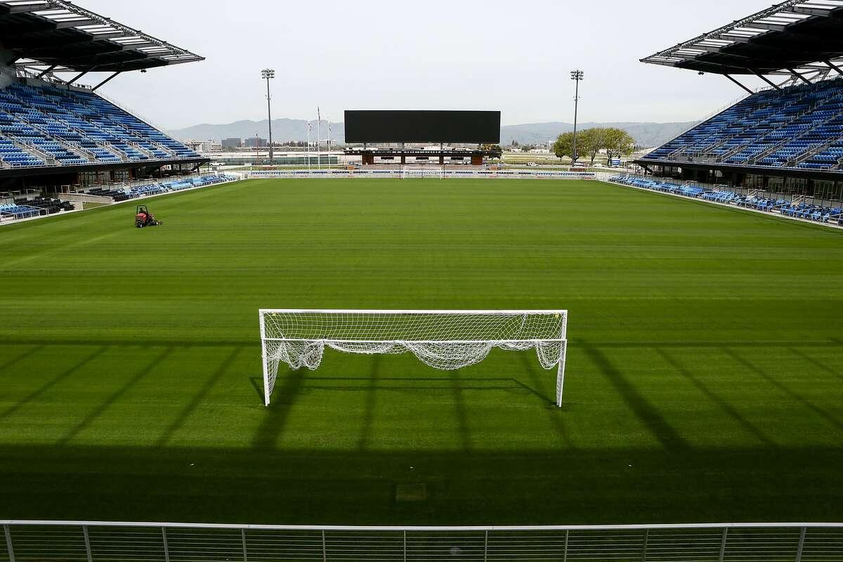 File photo of Avaya Stadium in San Jose.