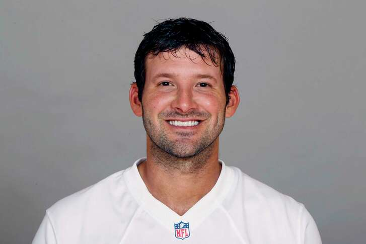 This is a photo of Tony Romo of the Dallas Cowboys NFL football team. This image reflects the Dallas Cowboys active roster as of Friday, June 24, 2016. (AP Photo)