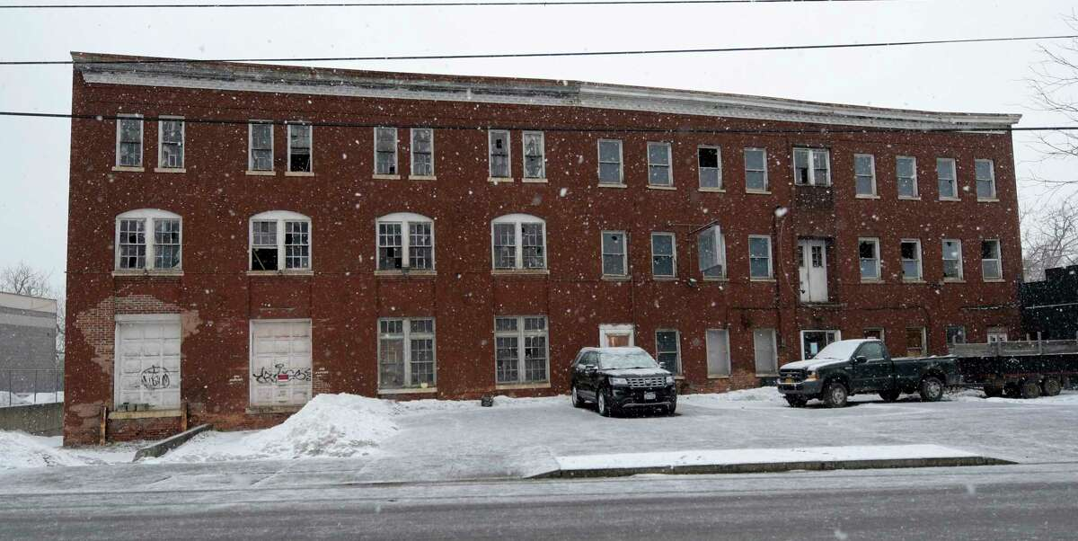 The building at 669 River Street which is on the National Historical Register will be turned in to a brewpub in the future Friday March 24, 2017 in Troy, N.Y. (Skip Dickstein/Times Union)