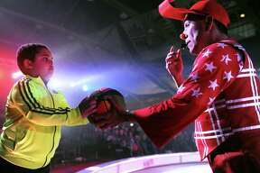 Garden Bros. Circus company holds a circus at the Armory in Albany, N.Y. on Sunday, March 26, 2017. (Robert Downen/Times Union)