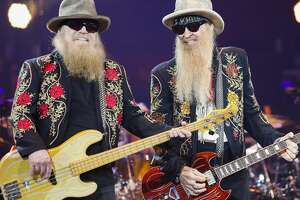 ZZ Top performs at the Houston Livestock Show and Rodeo Tuesday, March 21, 2017 in Houston. ( Michael Ciaglo / Houston Chronicle )