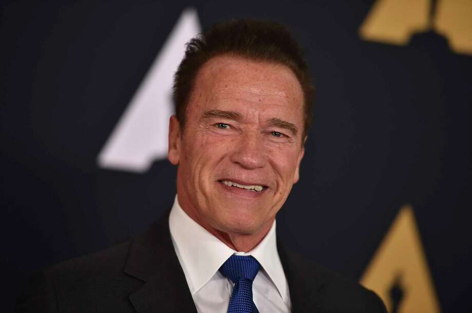 FILE - In this Nov. 12, 2016, file photo, Arnold Schwarzenegger arrives at the 2016 Governors Awards in Los Angeles. Schwarzen Photo: Jordan Strauss / Invision