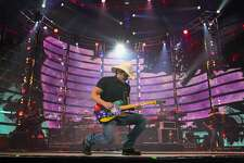 Brad Paisley performed after the Houston Livestock Show and Rodeo Super Series Championship in NRG Stadium Saturday, March 25, 2017, in Houston. ( Steve Gonzales  / Houston Chronicle )