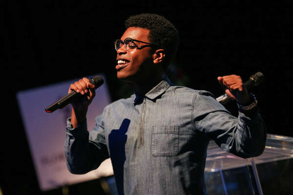 Kyle Ward, 2016 Pavilion Partners Scholarship Recipient, performs during the 19th Annual Wine Dinner & Auction on Sunday, March 26, 2017, at the Cynthia Woods Mitchell Pavilion. Ward is now a musical theatre student at Sam Houston State University.