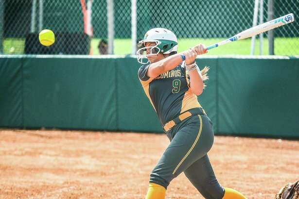 Laredo Community College's Leslie Reyes and the Palominos dropped both games of a doubleheader against Blinn on Sunday in Laredo.