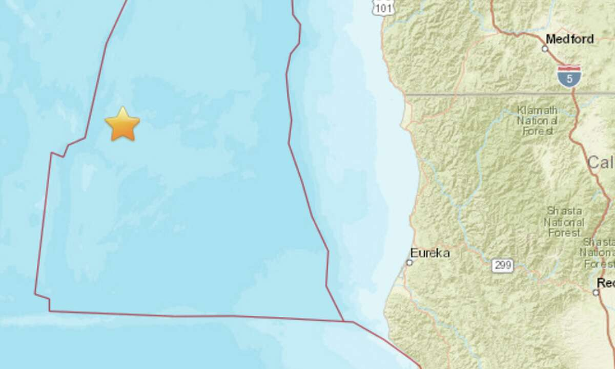 An earthquake struck off the coast of Northern California early on Monday, March 27.