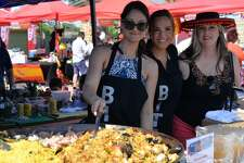 The 8th annual Paella Challenge featured top chefs from around San Antonio, along with live music and dancing, at Mission County Park on Sunday, March 26, 2017.