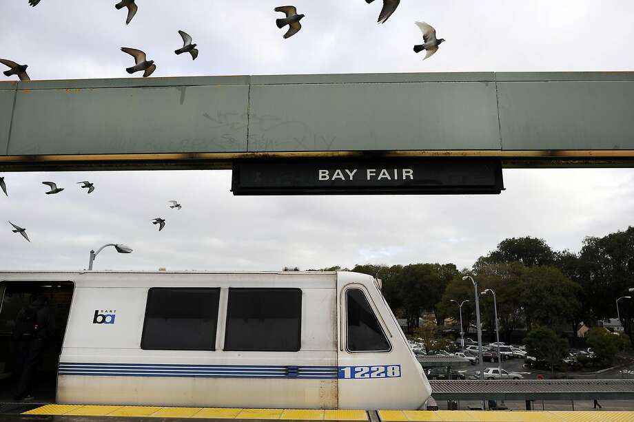 BART is working to make sure all people feel welcome, whether you're wearing leggings, or any other questionable clothing. Photo: Michael Short, Special To The Chronicle