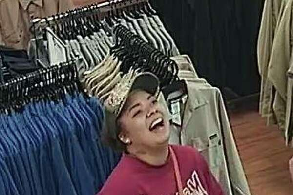 Photos posted to the Beaumont Police Department's Facebook page show unidentified suspects allegedly connected to thefts at local clothing stores.