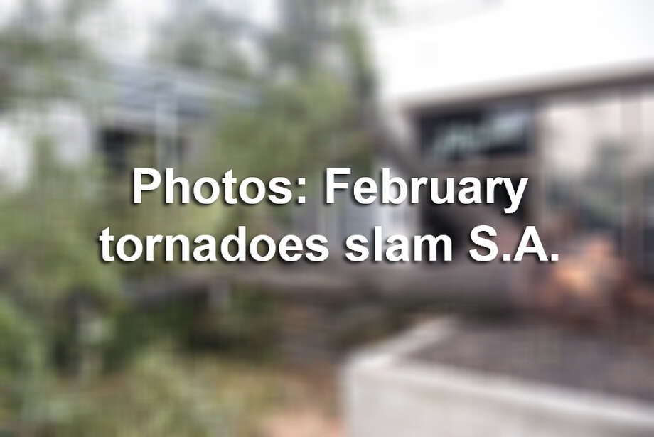 The National Weather Service confirmed four twisters touched down in the Alamo Heights area on Feb, 19-20, 2017, on the Northeast Side, in the Northern Hills subdivision and near Garden Ridge in Comal County.Here's a look back at the most shocking photos of the storm. Photo: File