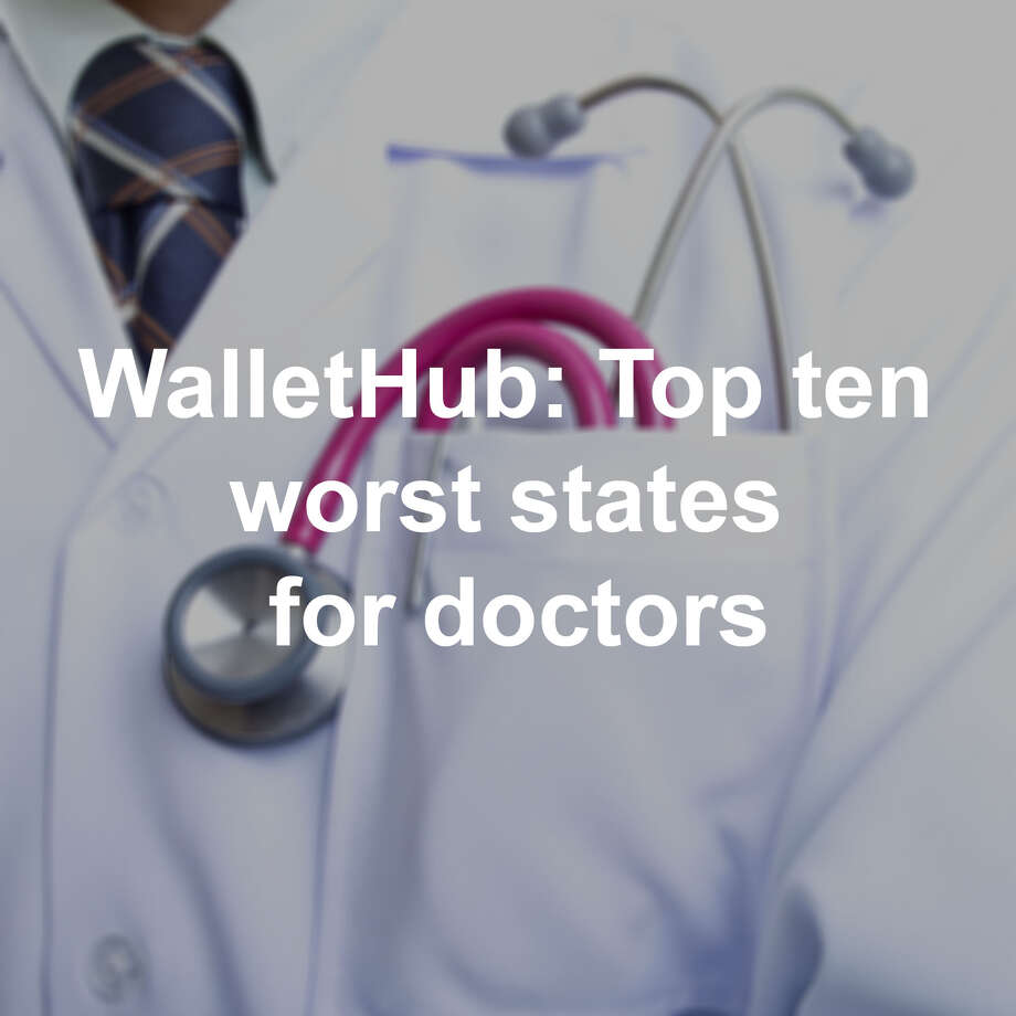 """WalletHub compared factors under two categories. """"Opportunity and Competition"""" considered ten metrics, including physicians average annual wage, hospitals per capita, and number of physicians per 1,000 residents. """"Medical Environment"""" considered four metrics, including quality of public hospital system and the number of serious disciplinary actions taken by the state medical board. Photo: Getty Images"""