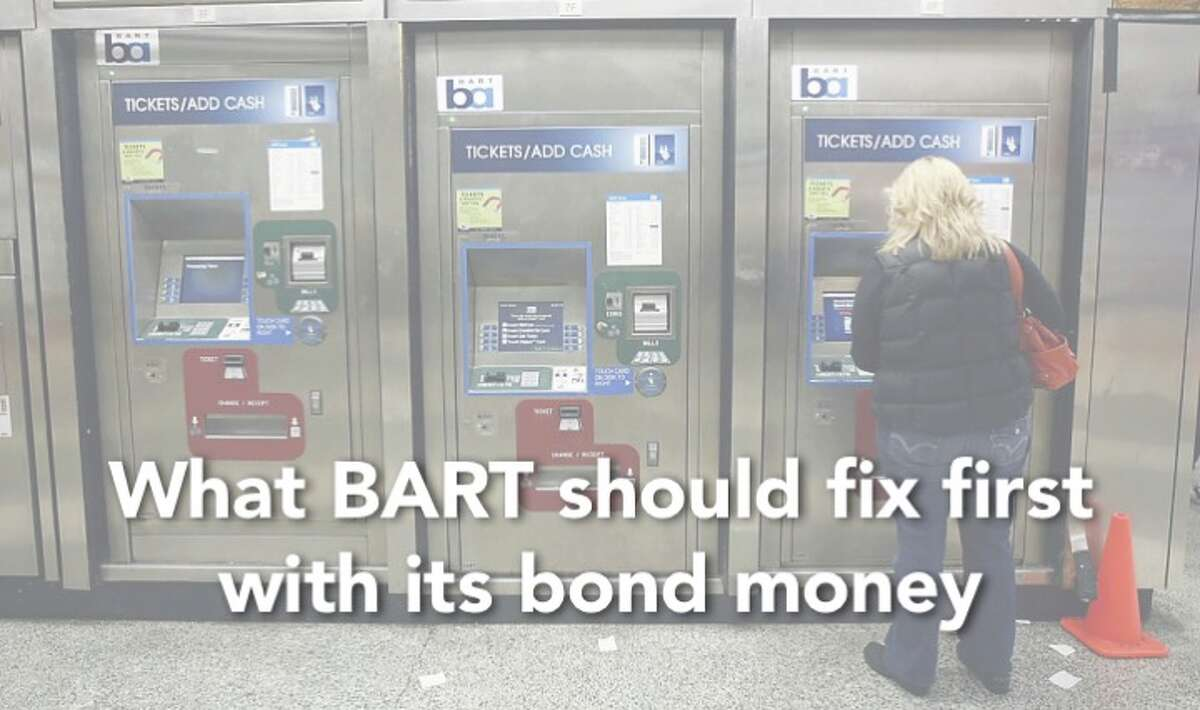 BART has $3.5 billion to spend. Here's what we think they should fix first...