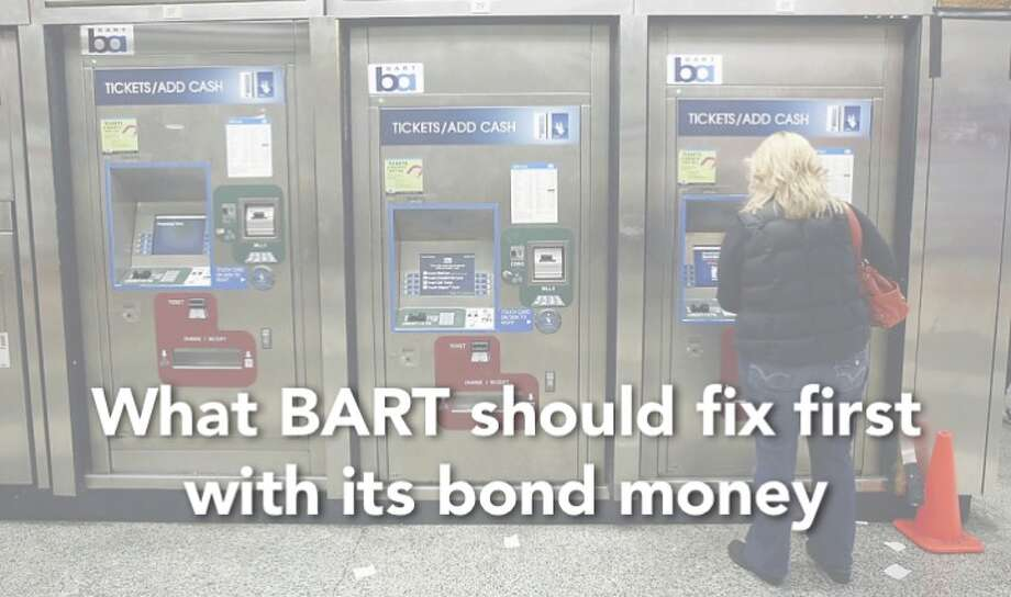 BART has $3.5 billion to spend. Here's what we think they should fix first... Photo: Michael Short / San Francisco Chronicle