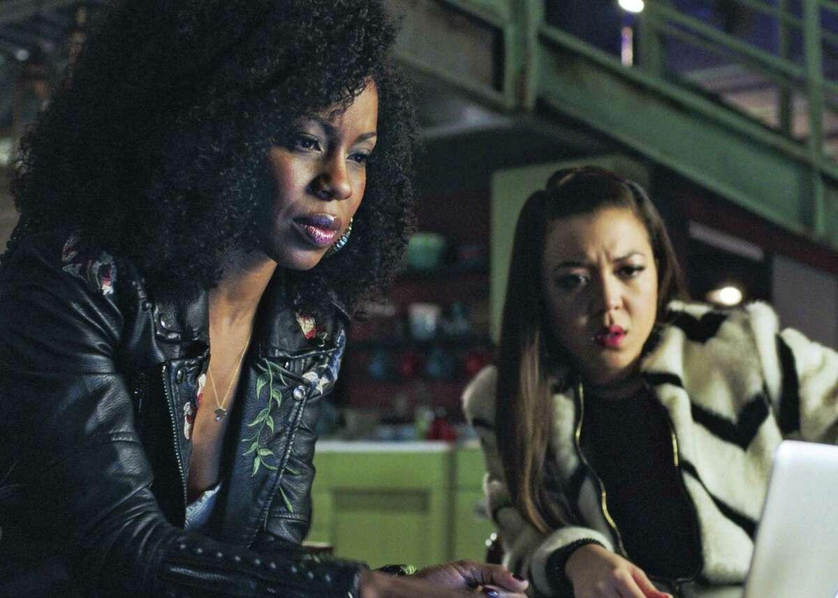 Danielle Moné Truitt and Angela Ko