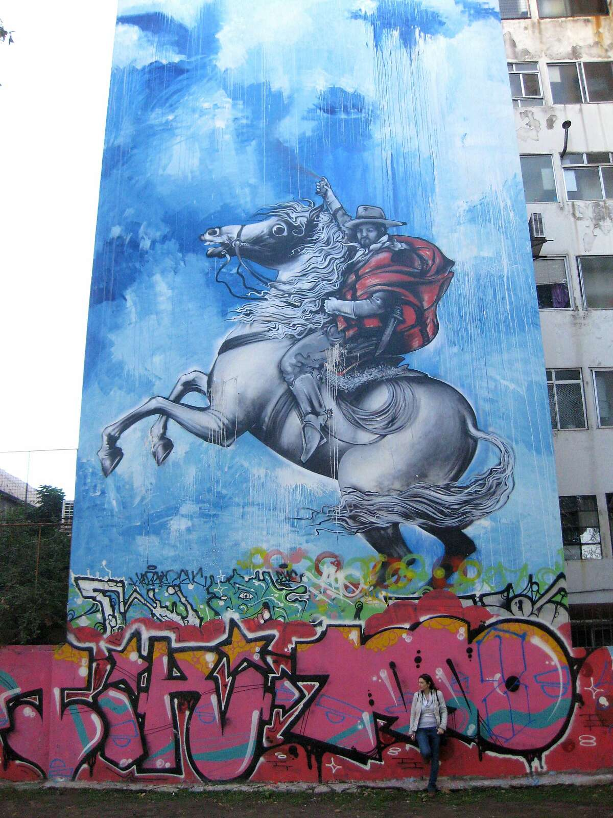 The burgeoning street art scene in the Palermo district of Buenos Aires has spawned related walking tours for visitors.