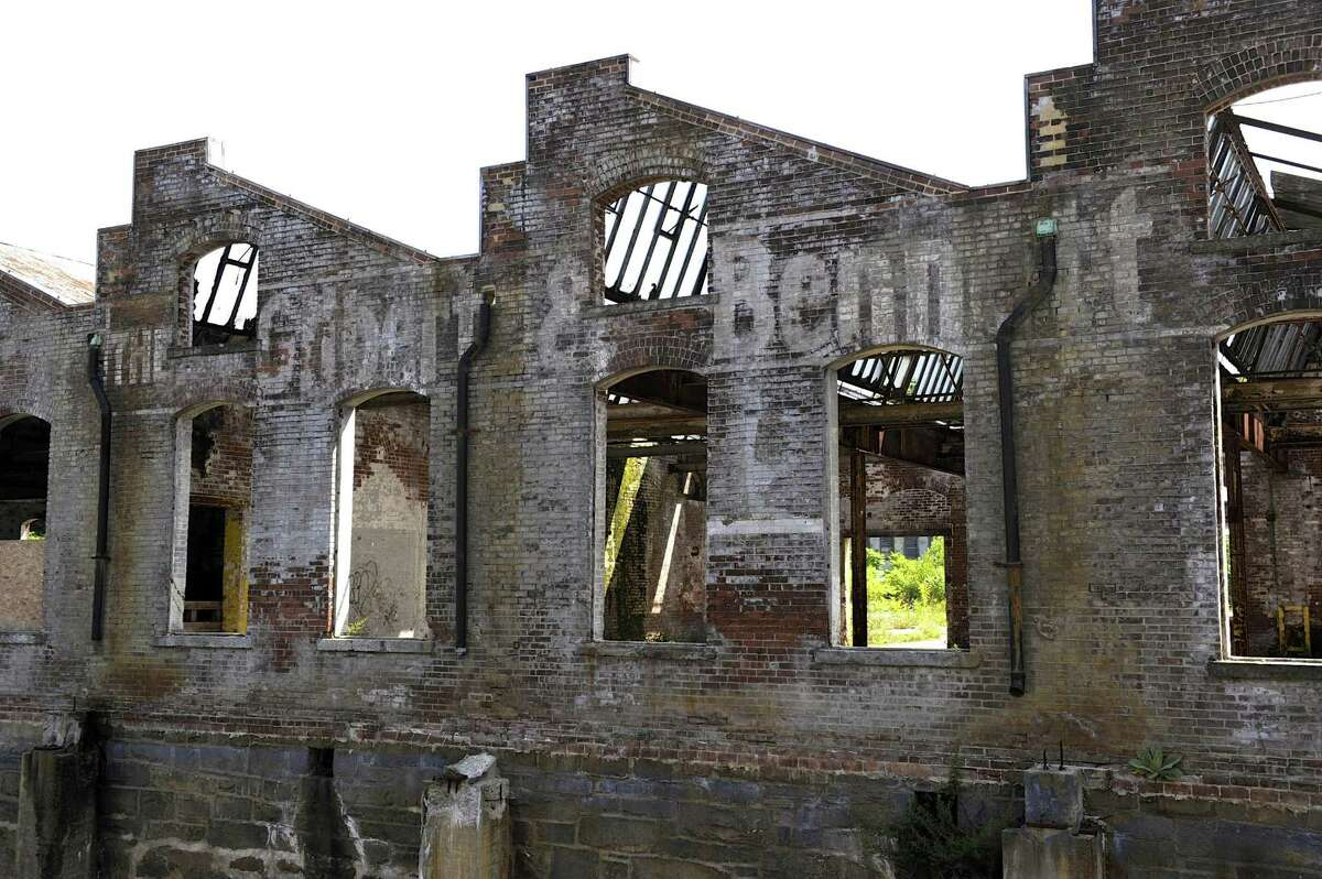 The former Gilbert & Bennett wire mill in Georgetown, Conn.,Thursday, August 7, 2014.