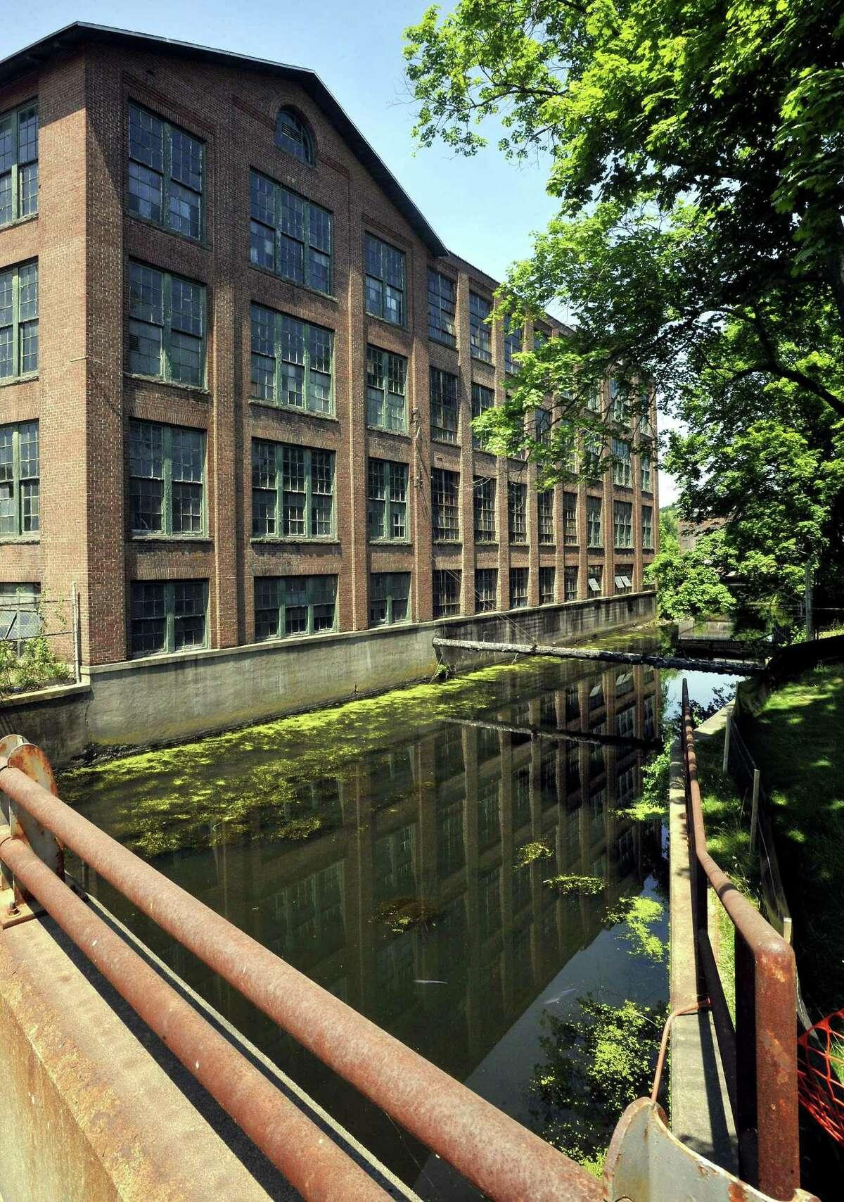 The former Gilbert & Bennett wire mill in Georgetown, Conn., Thursday, July 12, 2012.