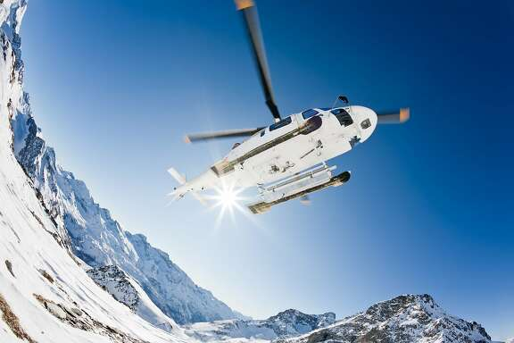 New helicopter tours from the Resort at Squaw Creek, starting at $88 for 10 minutes and lasting up to an hour, offer a different perspective on Lake Tahoe and its ski slopes.