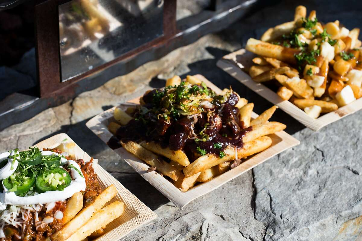 Frites, the new food cabana by the Village at Northstar ice rink, serves gourmet French fries with toppings such as bison chili and poutine along with craft beer.