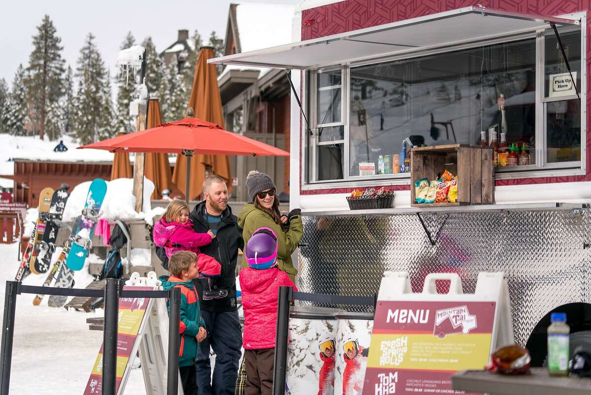 New this season, the Mountain Thai food truck at Northstar California is a few feet from the gondola and serves beer as well as Thai and other Asian specialties such as pad Thai, spring rolls and banh mi.