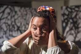 "Dezi Sol�y in AlterTheater's ""Bondage."""