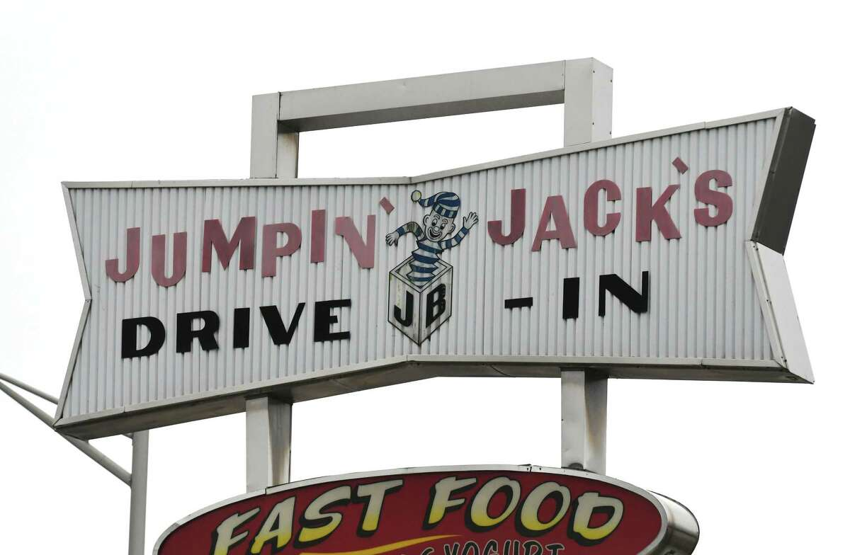 Sign outside Jumpin?' Jack?'s Drive-In on Monday, March 27, 2017, in Scotia, N.Y. The popular eatery is scheduled to open on Thursday. (Will Waldron/Times Union)