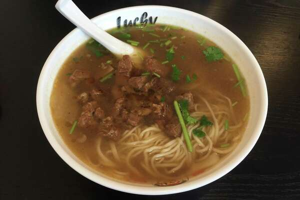 Review Hand Pulled Noodles At Lucky Noodle Expressnews Com