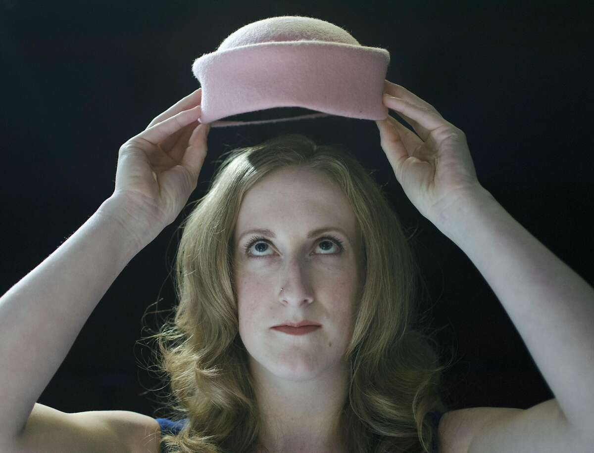 """Jackie O (Caitlin Evenson) assumes the role of her famous namesake in Custom Made Theatre Co.'s """"The House of Yes."""""""