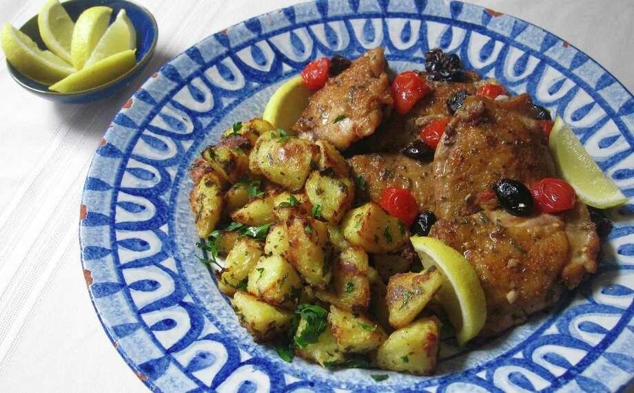 Greek-style roasted lemon potatoes Photo: Sara Moulton, UGC / Sara Moulton