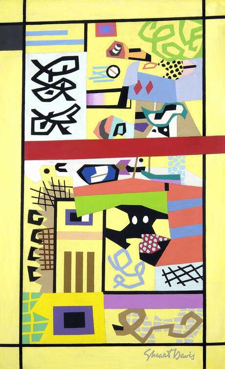 "Stuart Davis, ""For Internal Use Only"" (1944�45) Photo: � Estate Of Stuart Davis/Licensed By VAGA, New York"