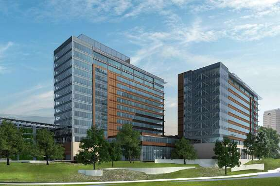 This rendering shows what CPS Energy's new headquarters will look like when complete. The utility's board decided to delay a decision on who will be the general contractor for the project.