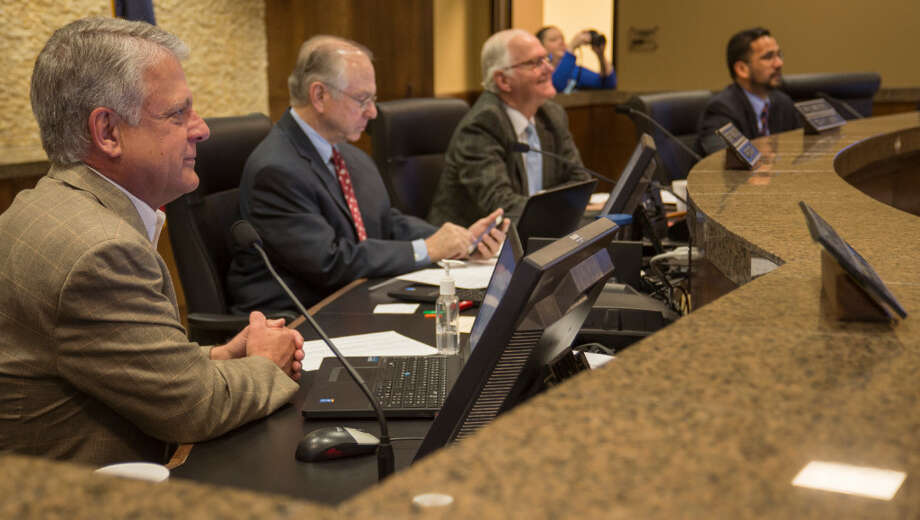 Midland County Commissioners on Monday voted against the resolution as described for the proposed transport of high-level nuclear waste through the county. Photo: MRT File