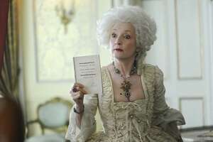 """Lesley Manville plays rival madam Lydia Quigley in Hulu's """"Harlots."""""""