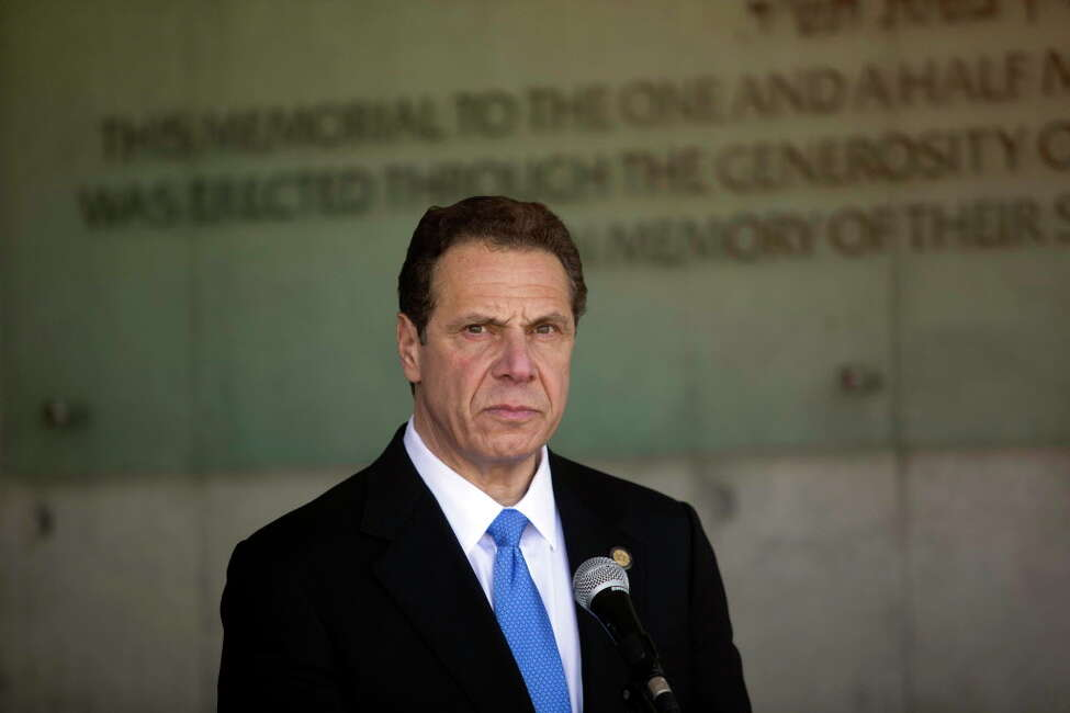 Upstate job growth has been anemic during the tenure of Gov. Andrew M. Cuomo, shown here during a recent visit to Israeil. No governor of a state with a shrinking population has ever been elected president. Keep clicking to learn about presidents who have come from New York. (AP Photo/Dan Balilty)