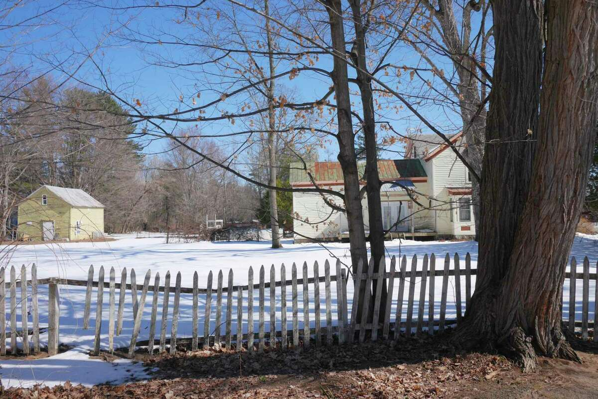 A view of the property next door to Dana and Jeremy Parzych's home is seen on Thursday, March 23, 2017, in Gansevoort, N.Y. A Dollar General store will be built on this property in the photo. (Paul Buckowski / Times Union)