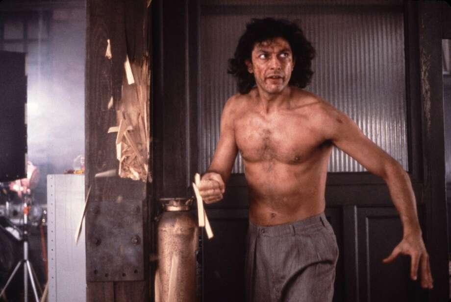 "The immortal tag line of ""The Fly,"" with Jeff Gold blum: ""Be afraid. Be very afraid."" Photo: Attila Dory, Twentieth Century Fox"