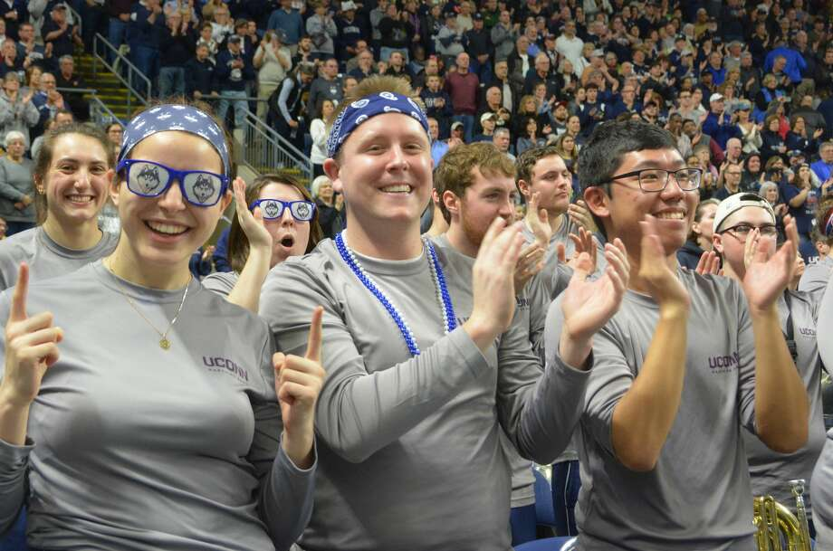 The NCAA Women's Basketball Regional Finals were held at Webster Bank Arena in Bridgeport March 25-27. On March 27, the UConn women took on Oregon. Were you SEEN cheering them on? Photo: Vic Eng / Hearst Connecticut Media Group