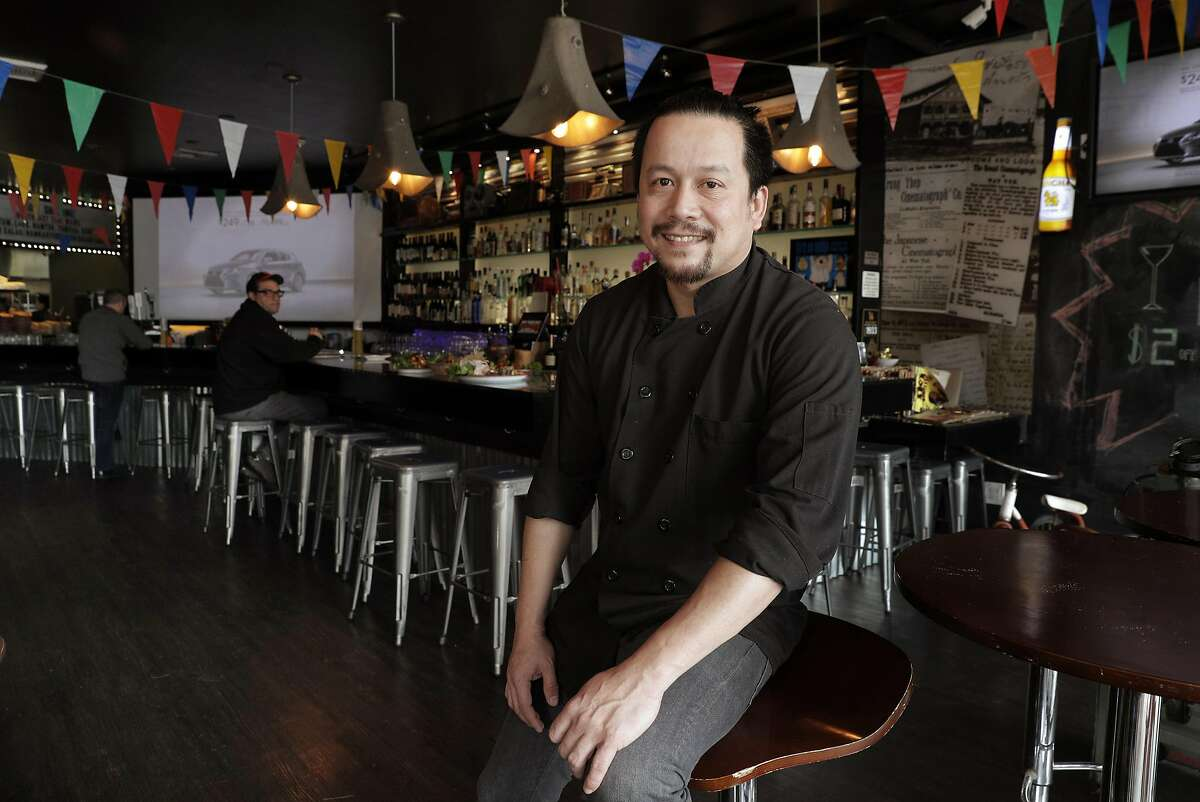 Chef Nutnawat Aukcarapasutanun, aka Kobe, at Saap Ver, a new SOMA restaurant that specializes in lesser-known regional Thai dishes, in San Francisco, Calif., on Sunday, March 26, 2017. The restaurant has an interior, which takes inspiration from Thai countryside street markets and 1970s era outdoor film showings,