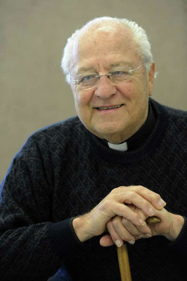 Father Peter Young at one of the locations where he works in Albany, N.Y. Feb. 3, 2012.    ( Skip Dickstein/Times Union) Photo: Skip Dickstein / 2011