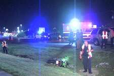 Officers responded to the crash around 10:30 p.m. on March 27, 2017, in the 11600 block of Bandera Road. Upon arrival, they found the motorcyclist conscious, but unresponsive, and transported him to University Hospital in serious condition.