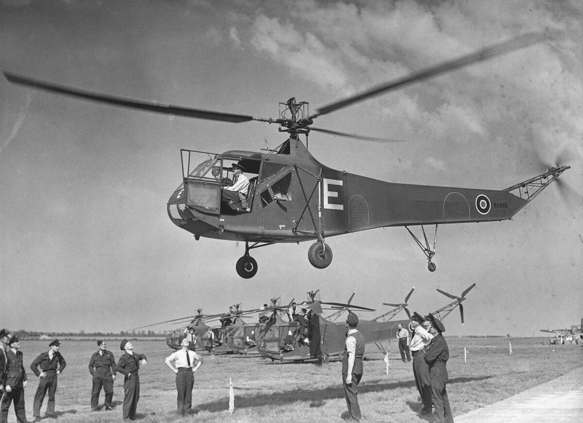 Sikorsky R-4 Years active: Jan. 14, 1942 - Unknown