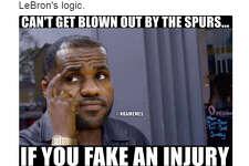 @NBAMemes:  LeBron's logic.