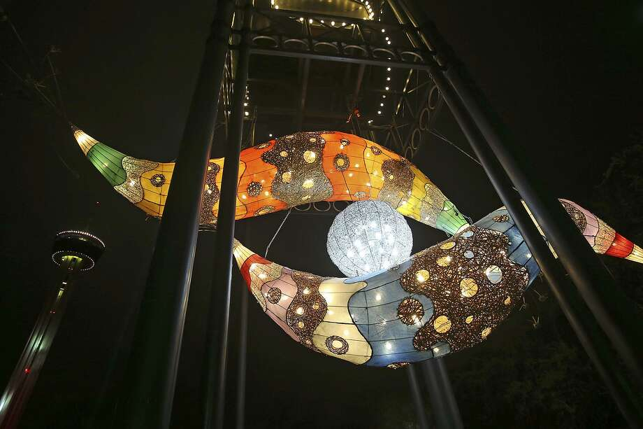 Luminaria, the city's annual nighttime arts festival, is returning to Hemisfair, where it last took place in 2013. Photo: Express-News File Photo / San Antonio Express-News