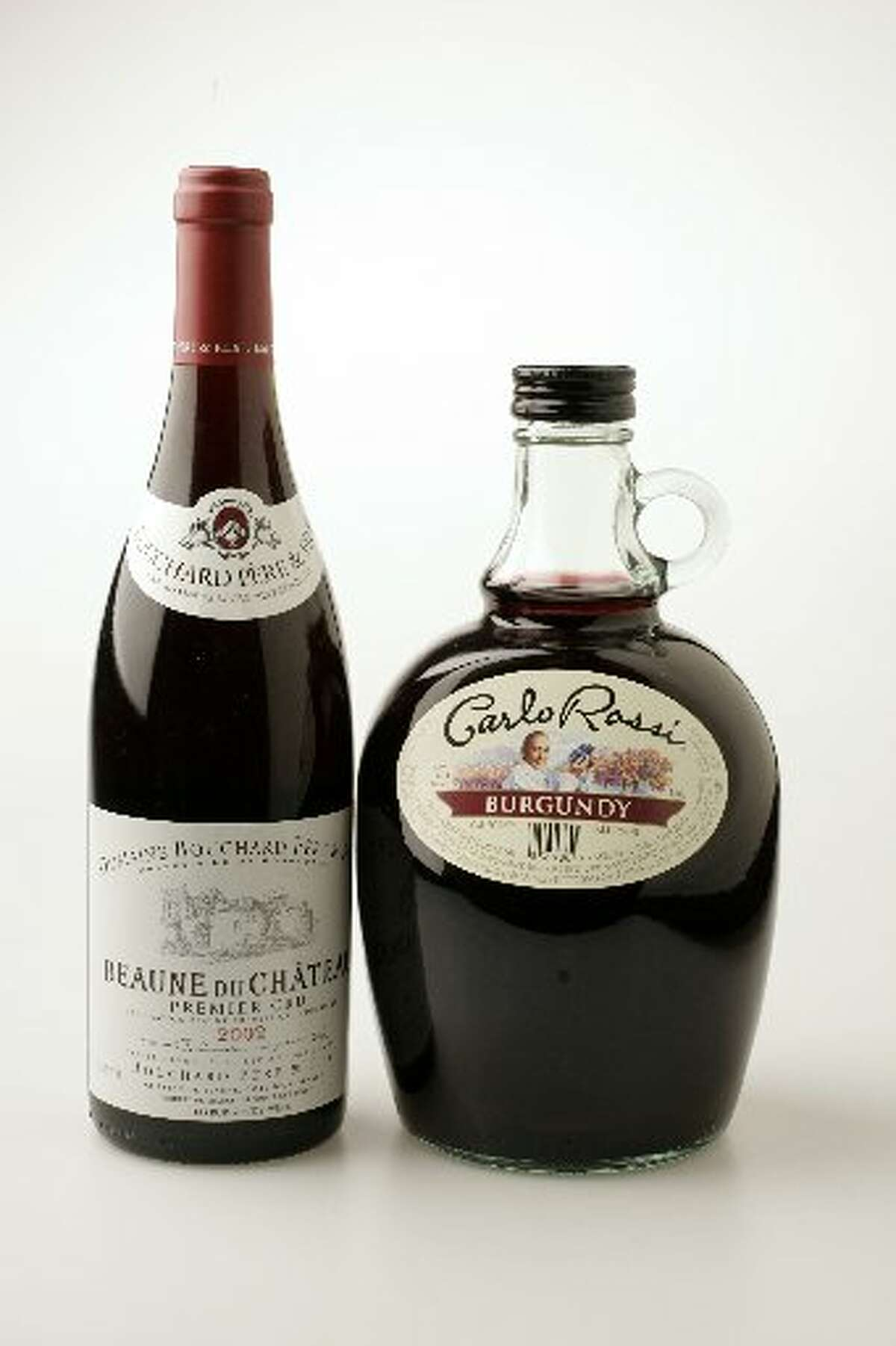 """What's the difference between actual Burgundy and Carlo Rossi """"Burgundy""""? A lot. Photo: Craig Lee/The Chronicle"""