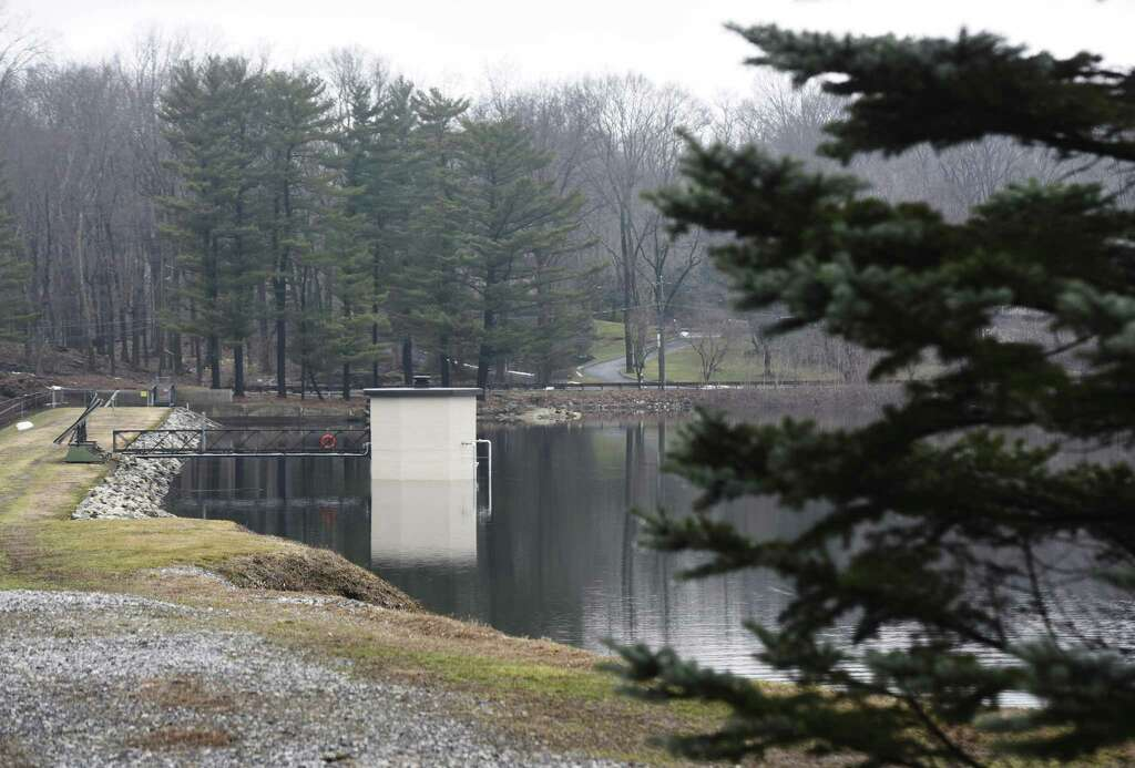 The Putnam Reservoir In Greenwich Conn Photographed On Monday March 27