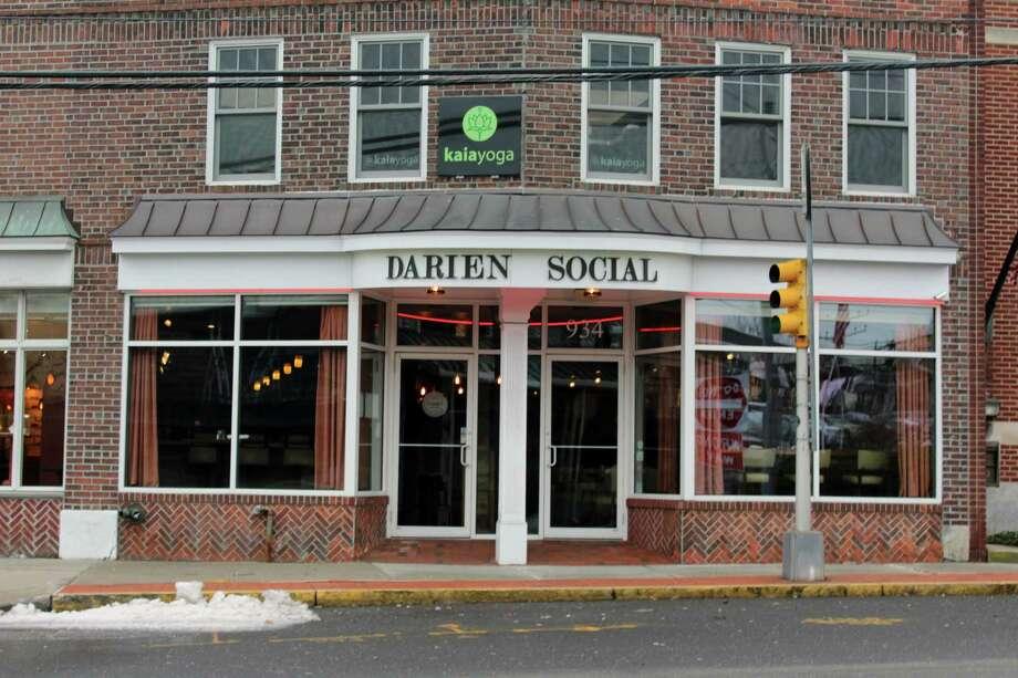 Darien Social will close its doors at 10 Center St. on Sunday, April 2. Photo: Justin Papp / Hearst Connecticut Media / Darien News